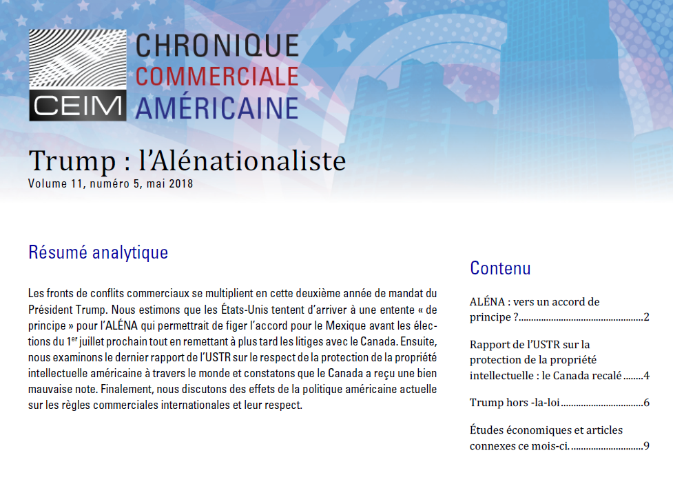 Trump : l'Alénationaliste