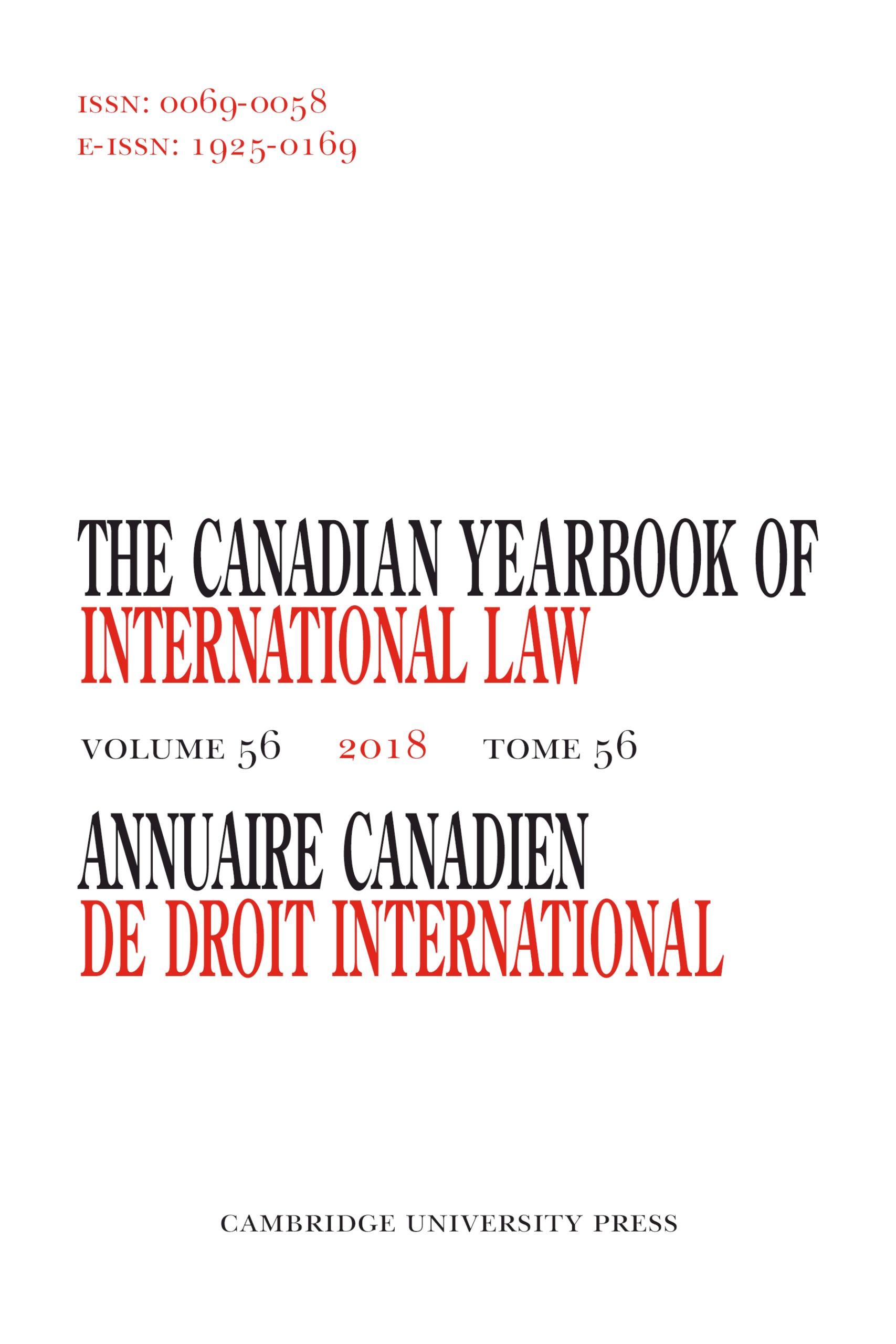 Les développements en droit interaméricain pour l'année 2018