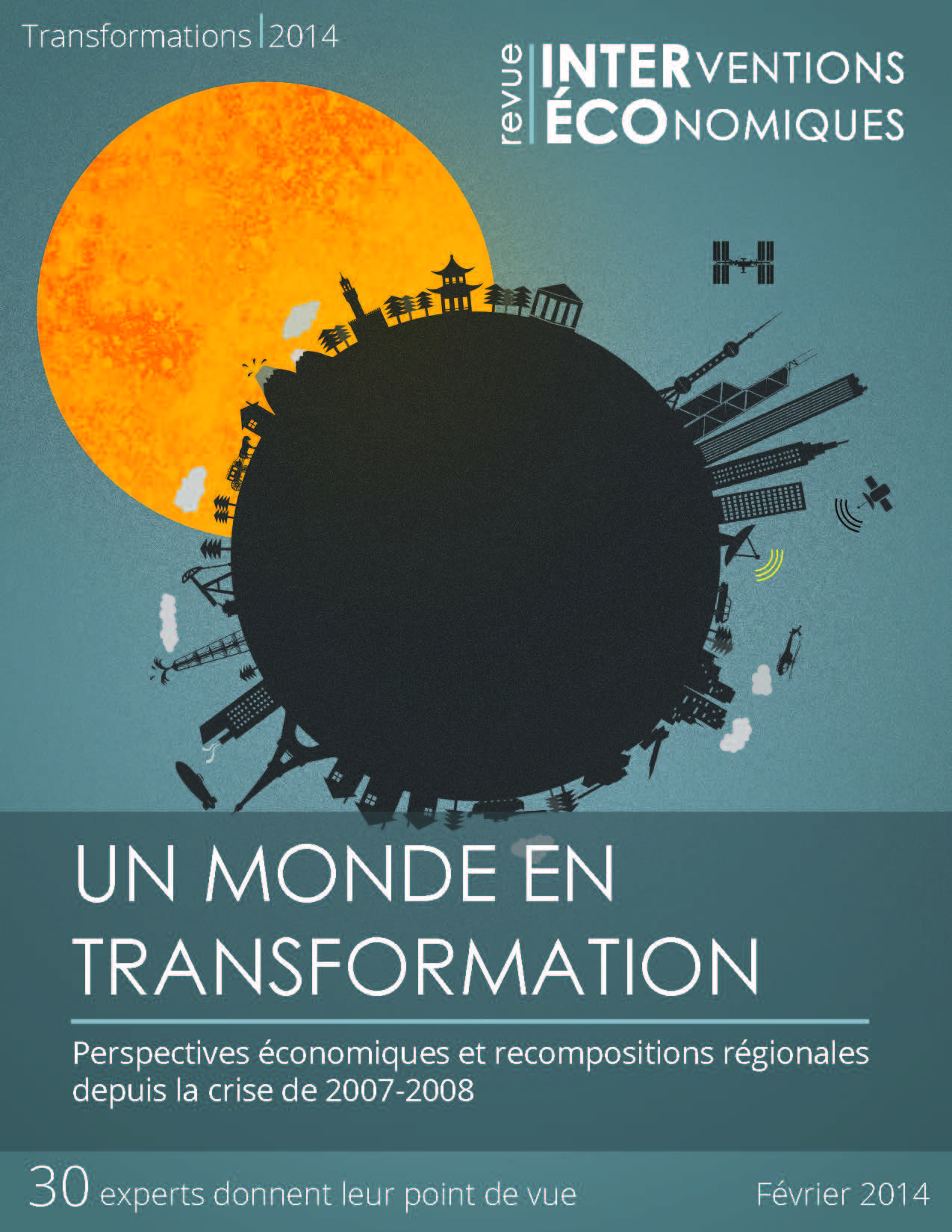 Un monde en transformation : Perspectives économiques et recompositions régionales depuis la crise de 2007-2008